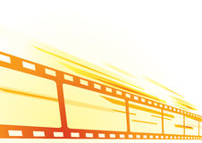 Film background. Abstract bright background with cinema film Royalty Free Stock Photography