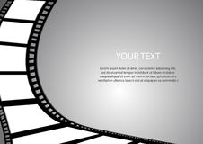 Film background and space for text. Vector : Film background and space for text Royalty Free Stock Images