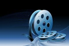 Film-Bandspule stock abbildung
