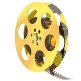 Film-Bandspule Stockbild