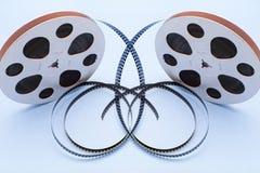 Film-Bandspulen Stockfoto
