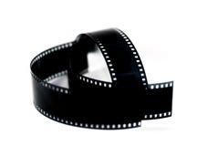 Film brać na białym tle Zdjęcie Stock