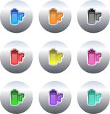 Film buttons royalty free illustration