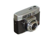 Film Camera. Retro film camera on white background stock images