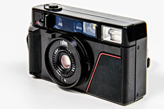 Film Camera Angled Stock Photo