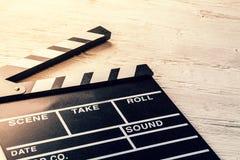 Film camera chalkboard Royalty Free Stock Image