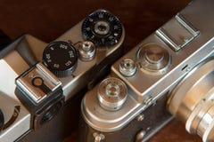 Film Camera Controls Stock Photos