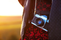 Film camera Stock Images