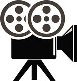 Film Camera. Has been created as vector Stock Photo