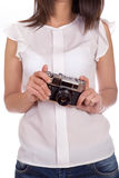 Film camera Royalty Free Stock Photos