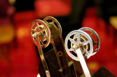 Film camera red carpet Royalty Free Stock Images