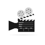 Film camera roll black vector Stock Photography