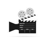 Film camera roll black vector. Film camera roll black art vector Stock Photography