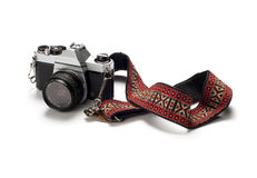 Film Camera on White Royalty Free Stock Image