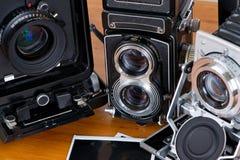Film cameras Royalty Free Stock Image