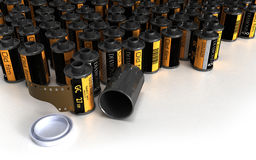 Film canister for camera Stock Images