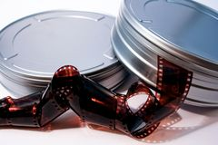 Film canisters royalty free stock photo