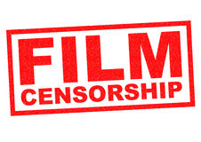 FILM CENSORSHIP Royalty Free Stock Images