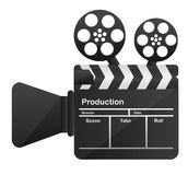 Film cinema camera conceptual Royalty Free Stock Photos