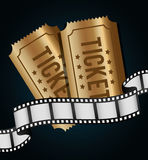 Film and cinema icons. Graphic design, vector illustration eps10 Royalty Free Stock Photo