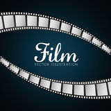 Film and cinema icons. Graphic design, vector illustration eps10 Stock Images
