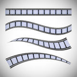 Film and cinema icons. Graphic design, vector illustration eps10 Stock Photography