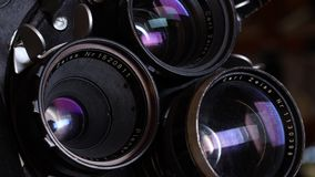 35mm film vintage camera stock footage
