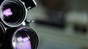 35mm film vintage camera stock video