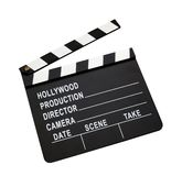 Film clap board Royalty Free Stock Images