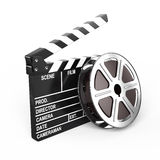 Film and clap board. Video icon Stock Photography