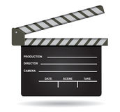 film clap illustration Stock Photo