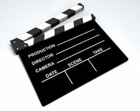 Film - Clapboard Royalty Free Stock Photo