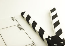 Film clapboard Stock Image