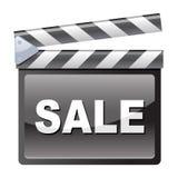Film Clapboard sale. Vector illustration of Film Clapboard sale Stock Photos