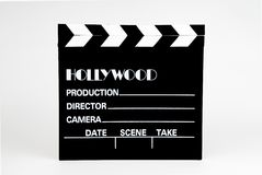 Film clapper-board Royalty Free Stock Images