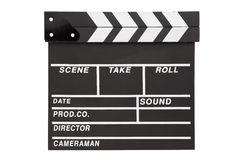 Film clapper  board with space Royalty Free Stock Photography