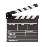 Film clapper  board with space Royalty Free Stock Images