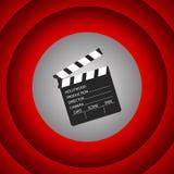 Film clapper. Cinema clapboard symbol design. Vector illustratio. Cinema clapboard  symbol design. Film clapper. Vector illustration concept Stock Photos