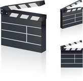 Film Clapper Stock Images