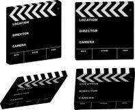 Film clapper variation Stock Image