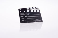 Film clapper Royalty Free Stock Photo
