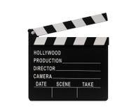 Film clapperboard lizenzfreies stockfoto