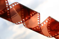 Film close-up II royalty free stock photo