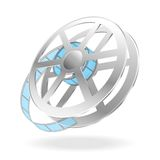 Film coil. Vector illustration. EPS10, blend Royalty Free Stock Images