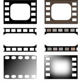 Film collection Royalty Free Stock Photography
