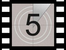 Free Film Countdown Royalty Free Stock Images - 584759