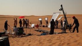 Film Crew in the Desert