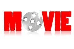 film 3D Fotografia Stock