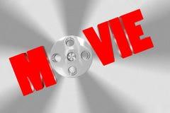 film 3D Immagini Stock Libere da Diritti