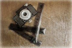 film d'appareil-photo vieux Image libre de droits